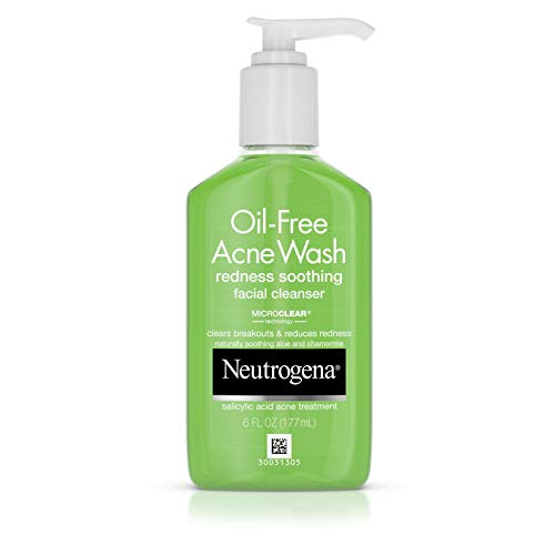 Neutrogena - Oil-Free Acne and Redness Facial Cleanser