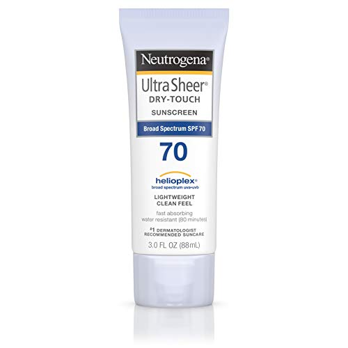 Neutrogena - Neutrogena Ultra Sheer Dry-Touch Water Resistant and Non-Greasy Sunscreen Lotion