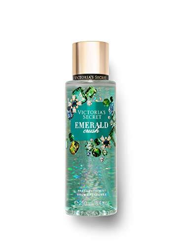 VS Collection - Victoria Secret EMERALD CRUSH Winter Dazzle Fragrance Mists 8.4 Fluid Ounce, 2019 Edition