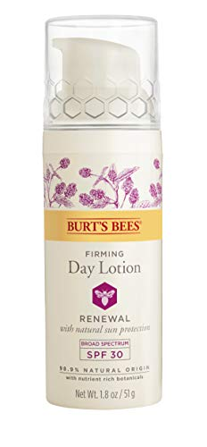 Burts Bees - Burt's Bees Renewal Day Lotion SPF 30, Firming Face Lotion, 2 Ounces