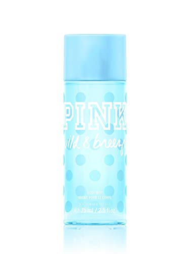 Victoria's Secret - Victoria's Secret PINK Women's Wild & Breezy Body Mist 75 ml / 2.5 fl oz Travel Mini Spray