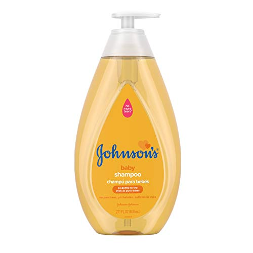 Johnson'S Baby - Johnson's Tear Free Baby Shampoo, Free of Parabens, Phthalates, Sulfates and Dyes, 27.1 fl. oz