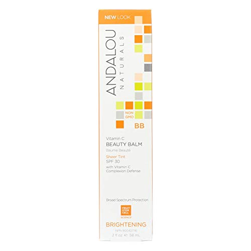Andalou Naturals - Andalou Naturals Beauty Balm Sheer Tint With Spf 30 Brightening - 2 Oz