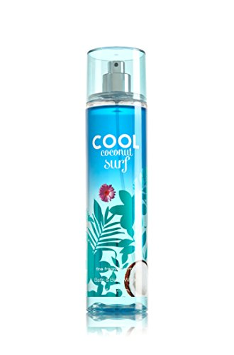 Bath & Body Works - Bath and Body Works Fine Fragrance Mist Cool Coconut Surf 8 Ounce Full Size Spray