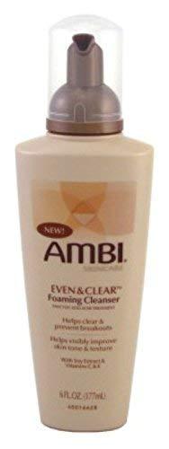 Ambi - Ambi Even & Clear Foaming Cleanser 6oz Pump (6 Pack)
