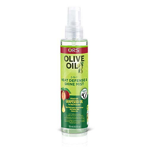ORS Olive Oil - ORS Olive Oil with Grapeseed Oil 2-N-1 Shine Mist & Heat Defense 4.6 oz