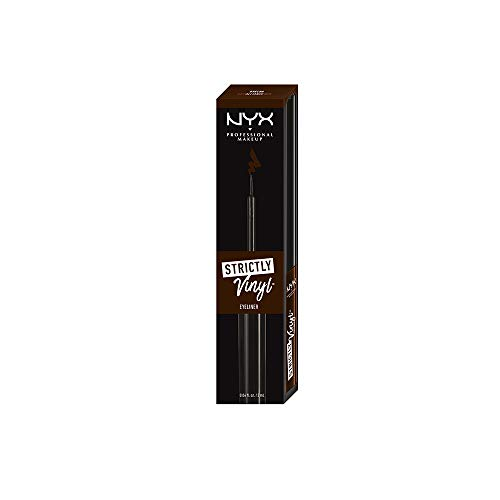 NYX - NYX PROFESSIONAL MAKEUP Strictly Vinyl Eyeliner, Alliance, 0.068 Ounce