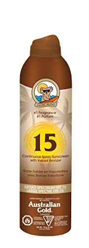 Australian Gold - Australian Gold Continuous Spf#15 Spray 6 Ounce With Bronzer (177ml) (2 Pack)