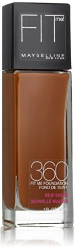 Maybelline Maybelline New York Fit Me! Foundation, Mocha [360] 1 oz (Pack of 2)