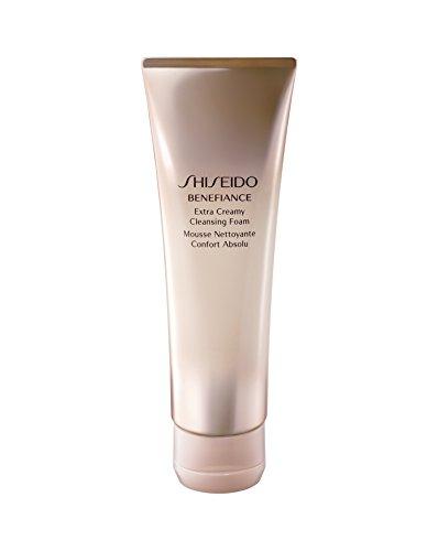 Shiseido - Shiseido Benefiance Wrinkle Resist24 Extra Cream Cleansing Foam for Unisex, 4.4 Ounce