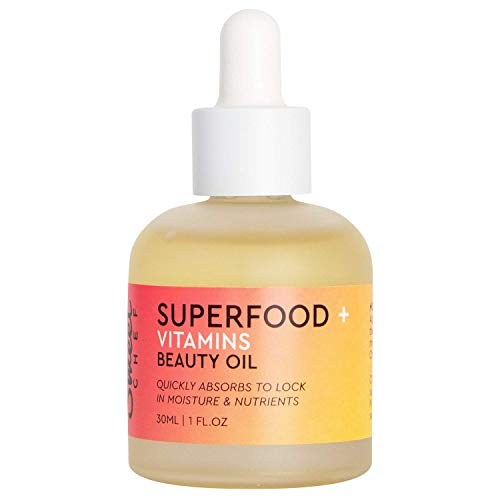 Sweet Chef - Sweet Chef Superfood + Vitamins Beauty Oil - Lightweight, Dry Facial Oil with Jojoba, Carrot Extract + Apple Seed Oil, No Mineral Oil or Synthetic Fragrance (30ml / 1 fl oz)