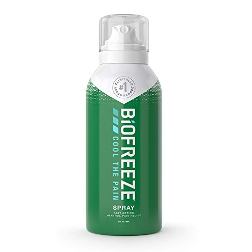 Biofreeze - Biofreeze Pain Relief Spray, 3 oz. Aerosol Spray, Colorless