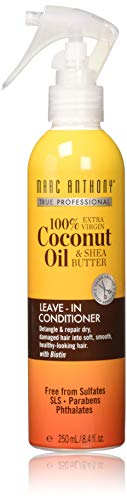 Marc Anthony - Marc Anthony Coconut Oil & Shea Butter Leave-In Conditioner, 8.4 Ounces
