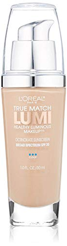 L'Oreal Paris - L'Oreal True Match Lumi Healthy Luminous Makeup, Creamy Natural [C3], 1.0 oz (Pack of 2)
