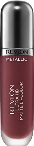 Revlon Ultra HD Metallic Matte Liquid Lipcolor, Liquid Lipstick, Shine