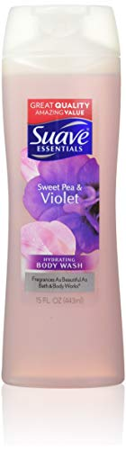 Suave body wash - Suave Essentials Body Wash, Sweet Pea and Violet, 15 oz