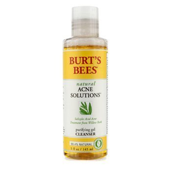 Burts Bees - Burt's Bees Natural Acne Solution Purifying Gel Cleanser - 145ml/5oz