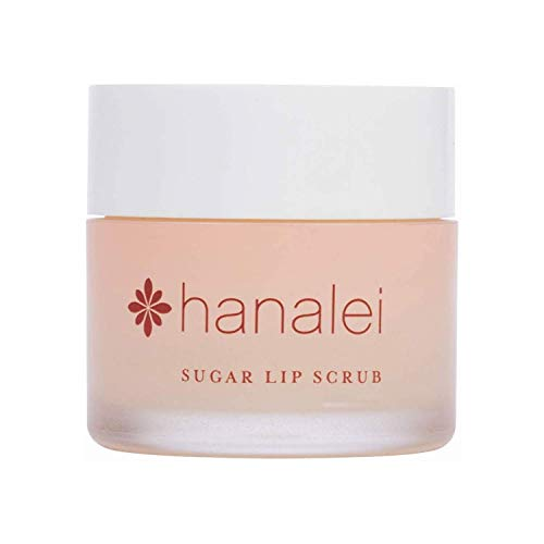Hanalei Company - Sugar Lip Scrub by Hanalei Company, Made with Raw Cane Sugar and Real Hawaiian Kukui Nut Oil, 22g (Cruelty free, Paraben free) MADE IN USA