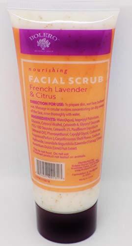 Bolero - Bolero Facial Scrub, French Lavender & Citrus, 3.5 FL OZ
