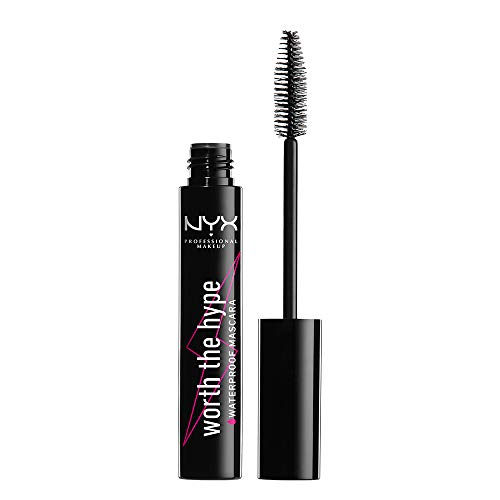 NYX - NYX Professional Worth The Hype Waterproof Mascara Black Black