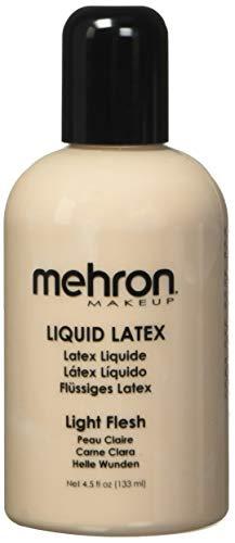 Mehron - Mehron Makeup Liquid Latex (LIGHT FLESH, 4.5 oz)