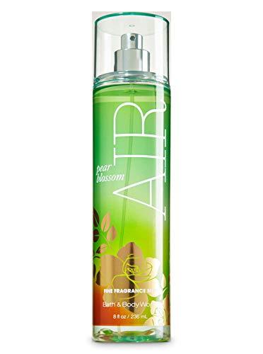 Bath & Body Works - Bath and Body Works Pear Blossom Air Fine Fragrance Mist 8 Ounce Full Size Retired Fragrance Spray