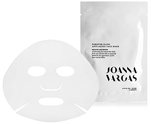Joanna Vargas Skin Care - The Forever Glow Anti Aging Face Mask From Celebrity Facialist Joanna Vargas - Hydrating Face Mask - Firms and Smooth Skin to Instantly Diminish Fine Lines and Wrinkles