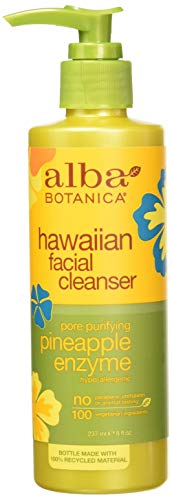 Alba Botanica - Alba Botanical Facial Cleanser Pineapple Enzyme, 8 Ounce (Pack of 6)