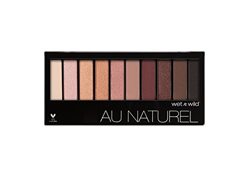 Wet Wild - Wet & Wild Color Icon Au Natural 10-Pan Eyeshadow 754a Nude Awakening, 1.6 Ounce