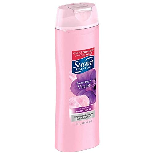 Suave - Suave Naturals Body Wash Sweet Pea and Violet 12 oz