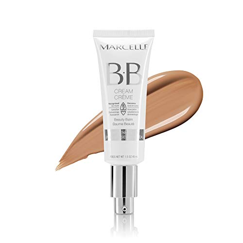 Marcelle - Marcelle BB Cream Beauty Balm, Medium to Dark, Hypoallergenic and Fragrance-Free, 1.5 fl oz