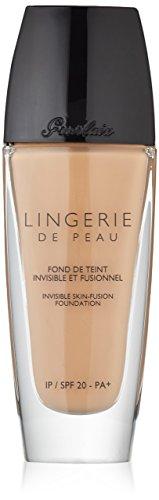 Guerlain - Guerlain Lingerie de Peau Invisible Skin Fusion Foundation, SPF 20 Pa+, 04 Beige Moyen, 1 Ounce