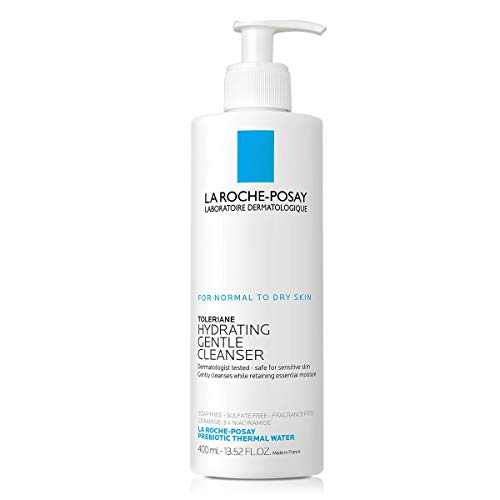 La Roche-Posay - La Roche-Posay Toleriane Hydrating Gentle Cleanser, Face Wash for Normal to Dry Sensitive Skin, Oil-Free