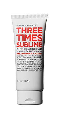 Formula Ten-O-Six Three Times Sublime Facial Masks