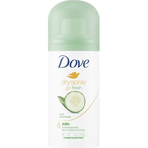 Antiperspirant By Dove - Dove Dry Spray [ Cool Essential Antiperspirant 48hours 1 fl oz One Pack]