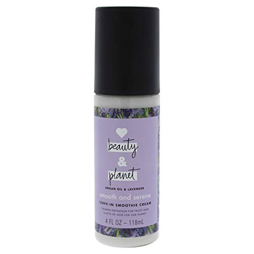 Love, Beauty & Planet - Smooth & Serene, Argan Oil & Lavender, Leave-in Smoothie Cream
