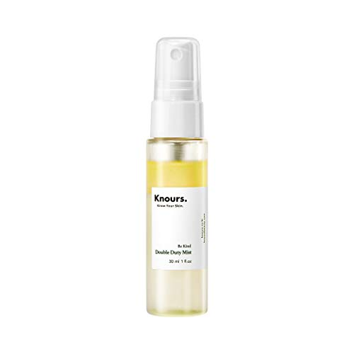 KNOURS. KNOW YOUR SKIN. PERIOD. - Knours. - Double Duty Mist | Travel Size Soothing Nourishing Facial Mist EWG Verified Natural Ingredients Clean Beauty (30ml/1 fl oz.)