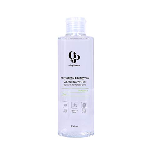 CELEPIDERME Celepiderme Daily Green Protection Cleansing Water 8.4 Fluid Ounce
