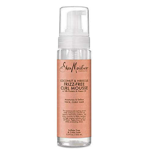 Sheamoisture - SheaMoisture 7.5 oz Coconut & Hibiscus Frizz-Free Curl Mousse