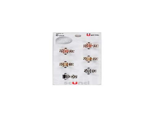 Scünci - Scunci Mini Metal Rhinestone Jaw Clips - 6.0 Ea (Pack of 2)