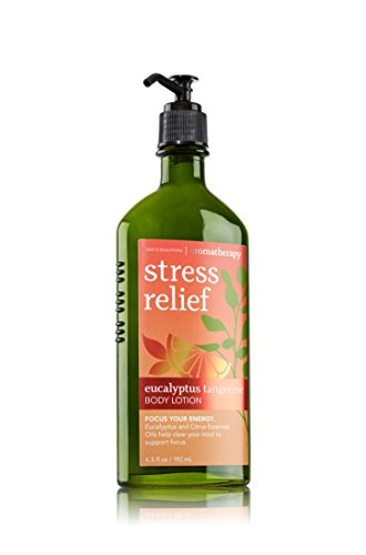 Bath & Body Works - Aromatherapy Stress Relief Eucalyptus Tangerine Body Lotion