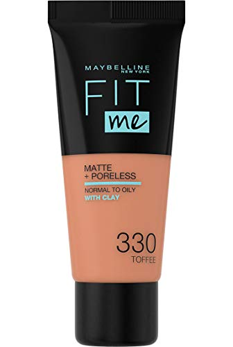 Maybelline Maybelline New York Fit Me Matte & Poreless Foundation 330 Toffee 30ml