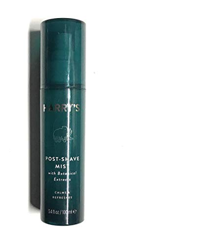 Harry'S Harry's Post Shave Mist - 3.4oz with Botanical extracts essential oils including mint, eucalyptus, and tea tree