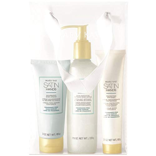 Mary Kay - Mary Kay Satin Hands Pampering Set Scrub, Cream & Softener - Fragrance-Free