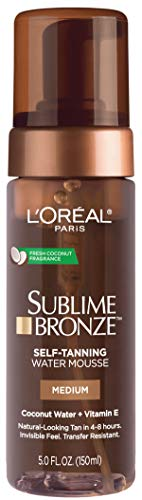 L'Oreal Paris - Skin Care Sublime Bronze Hydrating Self-Tanning Water Mousse