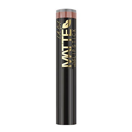 L.a. Girl - Matte Flat Velvet Lipstick, Snuggle