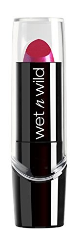Wet N' Wild - Wet n Wild Silk Finish Lipstick, Fuchsia with Blue Pearl [527b] 0.13 oz