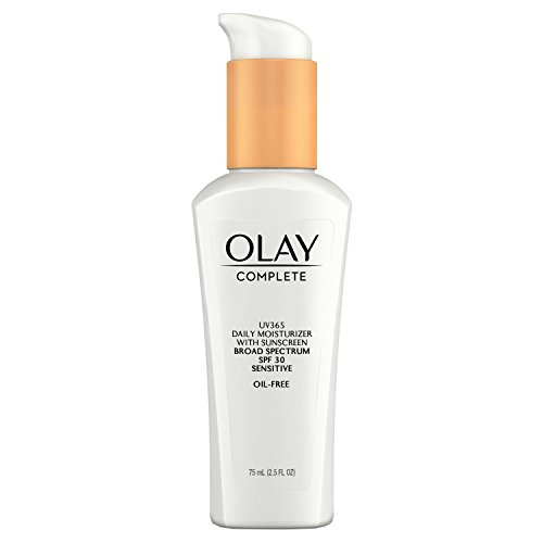 Olay - Olay Complete Daily Defense All Day Moisturizer With Sunscreen SPF30 Sensitive Skin, 2.5 fl. Oz., (Pack of 2)