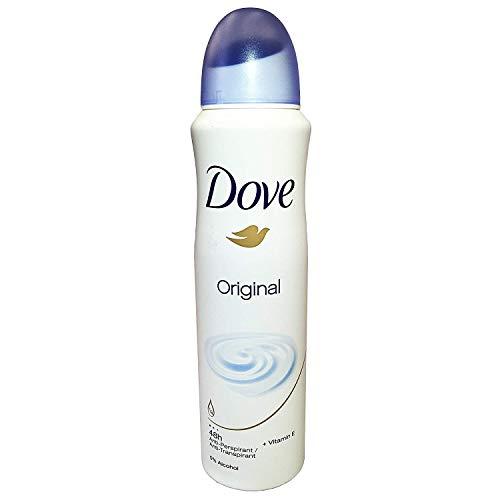 Dove - Dove Original Antiperspirant Spray Deodorant For Women 150 ml ( Pack of 10 )