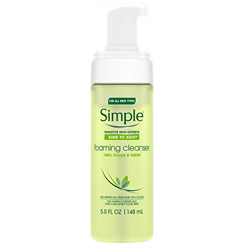 Simple - Simple Facial Cleanser, Foaming 5 Oz (Pack of 2)